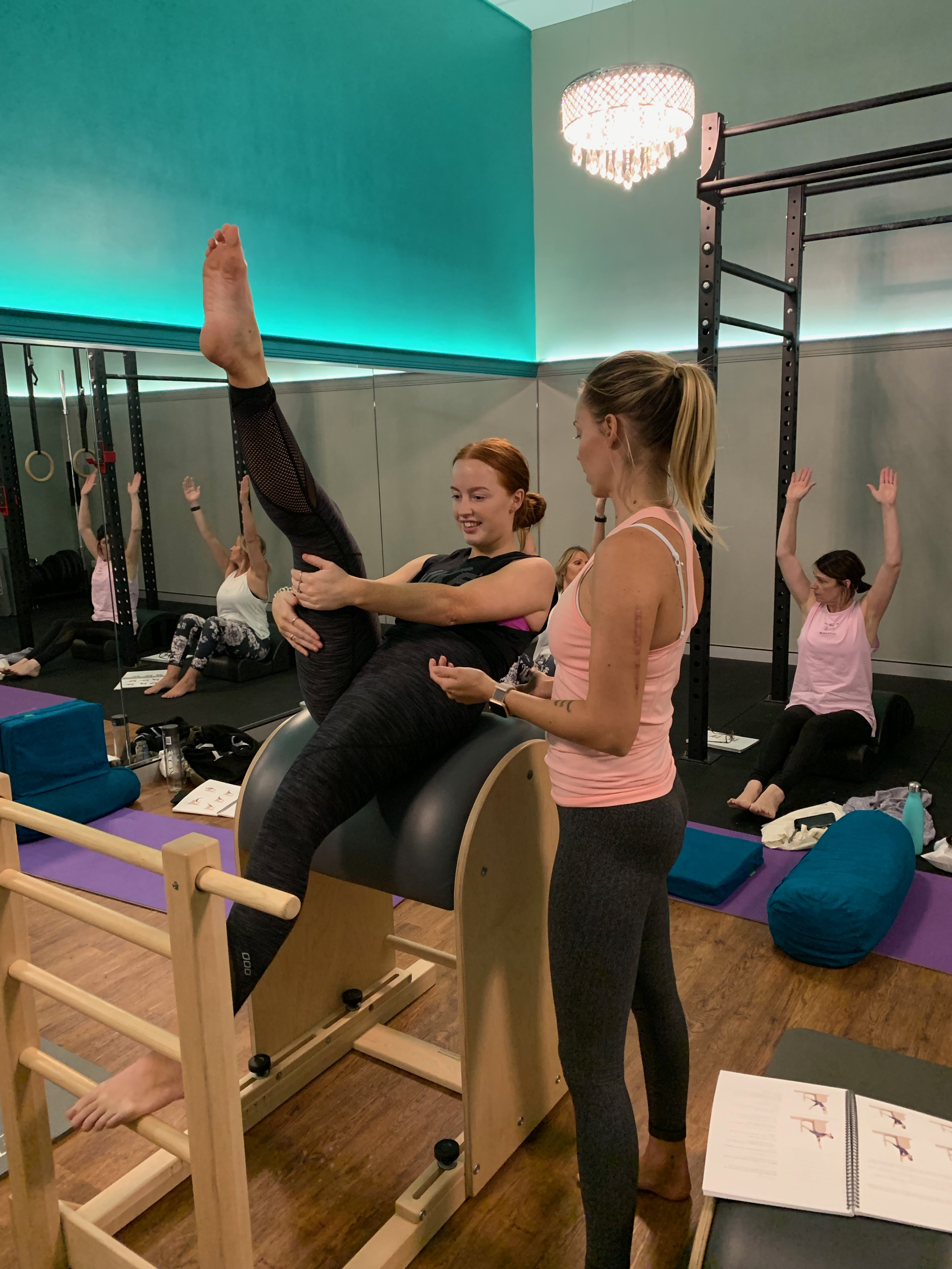 Image of our pilates training instructor in Perth