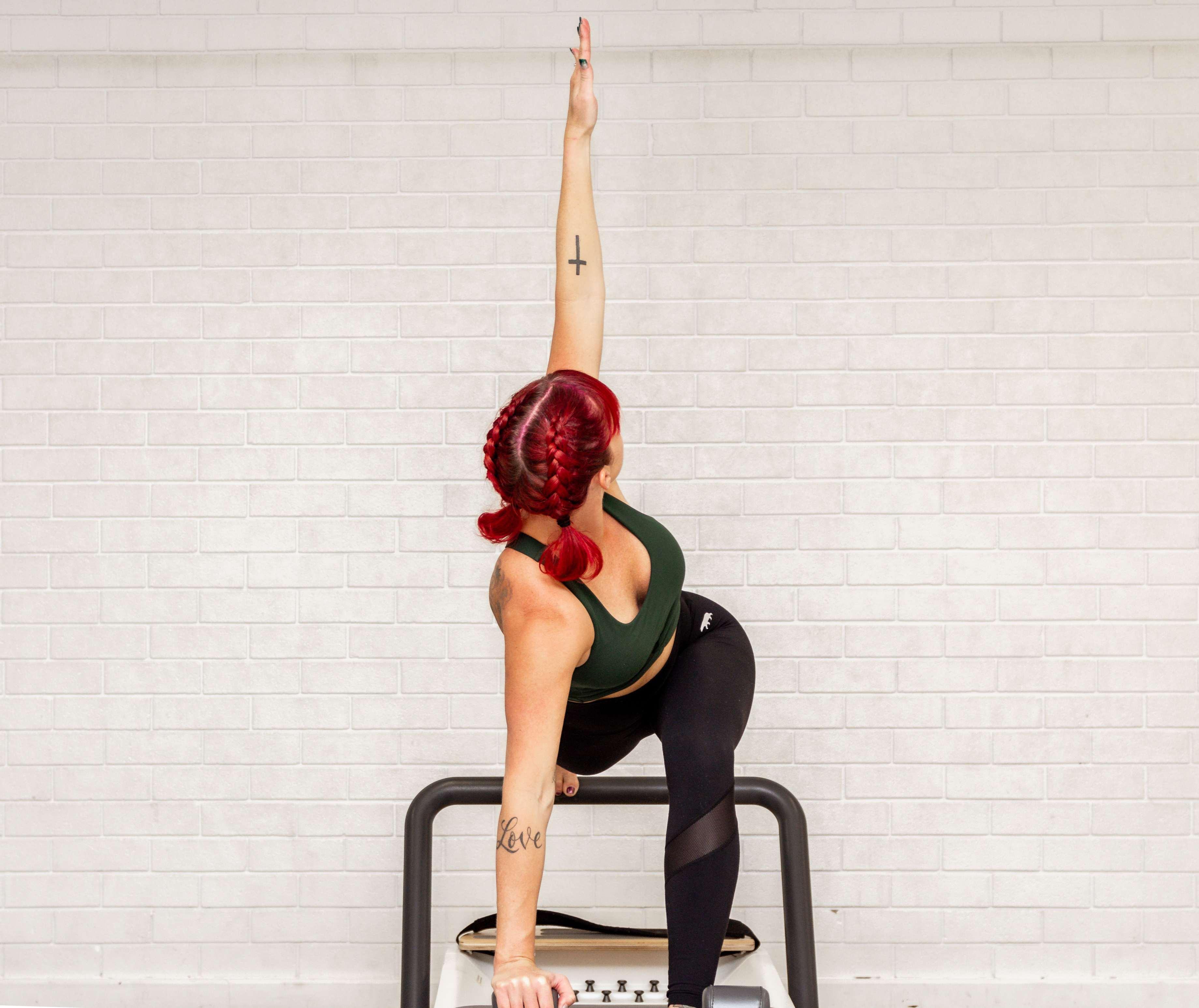 Pilate vs Yoga Female Model
